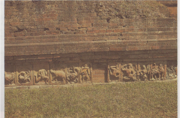 Paharpur-Temple-with-terracotta-plaques